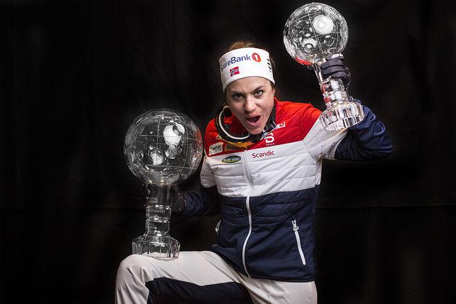 HEIDI WENG vann både världscupen totalt och distanscupen den här säsongen. Foto: NORDIC FOCUS
