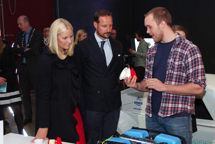 2017-03-23 Kronprinsparet besøker NMBU