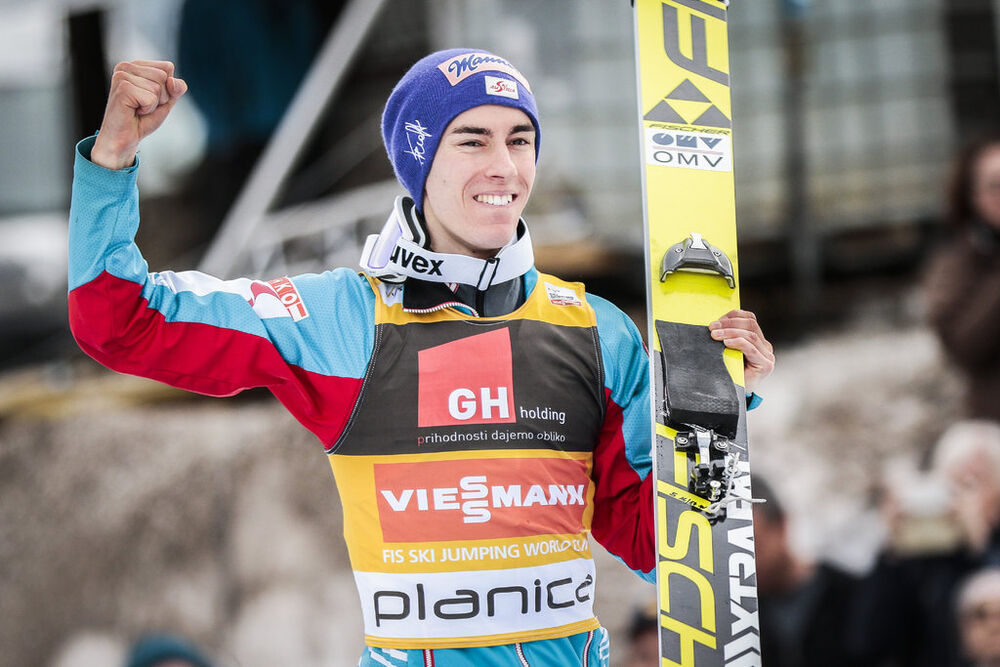 24.03.2017, Planica, Slovenia (SLO):Stefan Kraft (AUT) - FIS world cup ski flying, individual HS225, Planica (SLO). www.nordicfocus.com. © Modica/NordicFocus. Every downloaded picture is fee-liable.