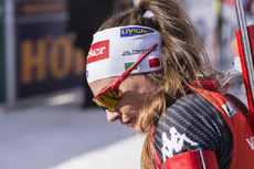 18.03.2017, Oslo, Norway (NOR):Dorothea Wierer (ITA) -  IBU world cup biathlon, pursuit women, Oslo (NOR). www.nordicfocus.com. © Manzoni/NordicFocus. Every downloaded picture is fee-liable.