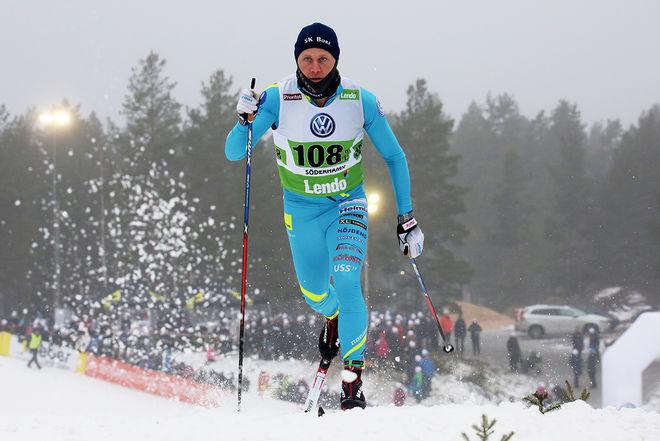 BILL IMPOLA vid skid-SM i Söderhamn 2017. Det blev den sista säsongen på toppnivå för Bill som nu har beslutat sig för att avsluta den aktiva karriären. Foto/rights: MARCELA HAVLOVA/sweski.com