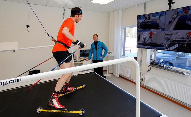 HÄR KAN Marcus Hellner nu förbereda sig på banorna  Pyeongchang inför nästa års OS.