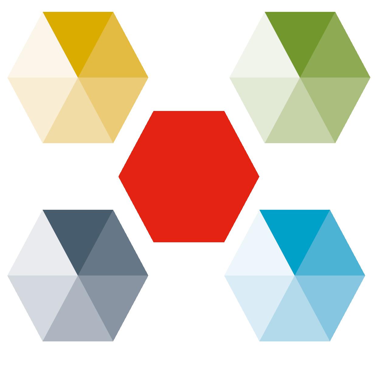 Fargepaletten til Ås kommune består av fargene i kommunevåpenet (rødt, sort, sølv) og fire sekundærfarger.