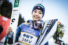 05.02.2017, Hinzenbach, Austria (AUT):Sara Takanashi (JPN) - FIS world cup ski jumping ladies, individual HS94, Hinzenbach (AUT). www.nordicfocus.com. © Modica/NordicFocus. Every downloaded picture is fee-liable.