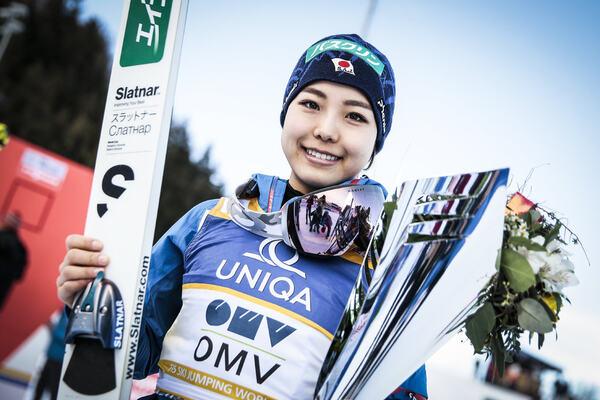 05.02.2017, Hinzenbach, Austria (AUT):Sara Takanashi (JPN) - FIS world cup ski jumping ladies, individual HS94, Hinzenbach (AUT). www.nordicfocus.com. © Modica/NordicFocus. Every downloaded picture is fee-liable. NordicFocus