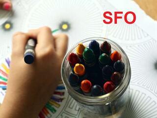 SFO illustrasjonsbilde