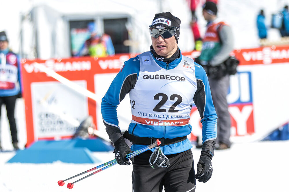 17.03.2017, Quebec, Canada (CAN):Dario Cologna (SUI) - FIS world cup cross-country, individual sprint, Quebec (CAN). www.nordicfocus.com. © Modica/NordicFocus. Every downloaded picture is fee-liable.