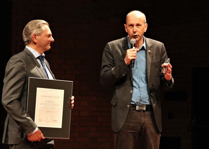 Alexander Krogh Plur og Ola Nordal med Kulturskolerådets pris 2017