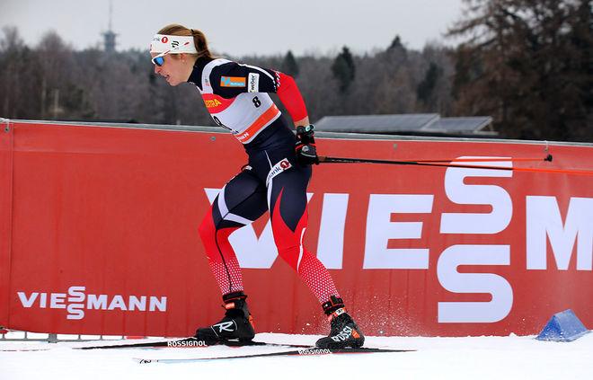 ASTRID UHRENHOLDT JACOBSEN kommer att träna mindre inför nästa säsong, men hon tror ändå hon kommer att bli bättre. Foto/rights: MARCELA HAVLOVA/sweski.com