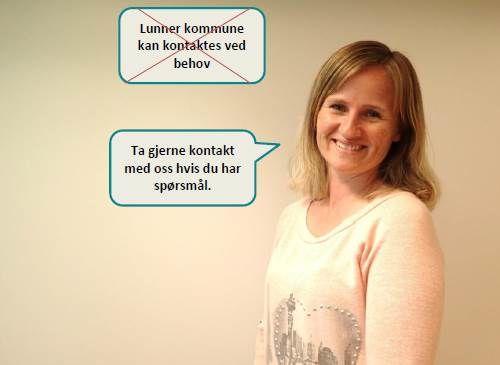 Klart språk i Lunner kommune