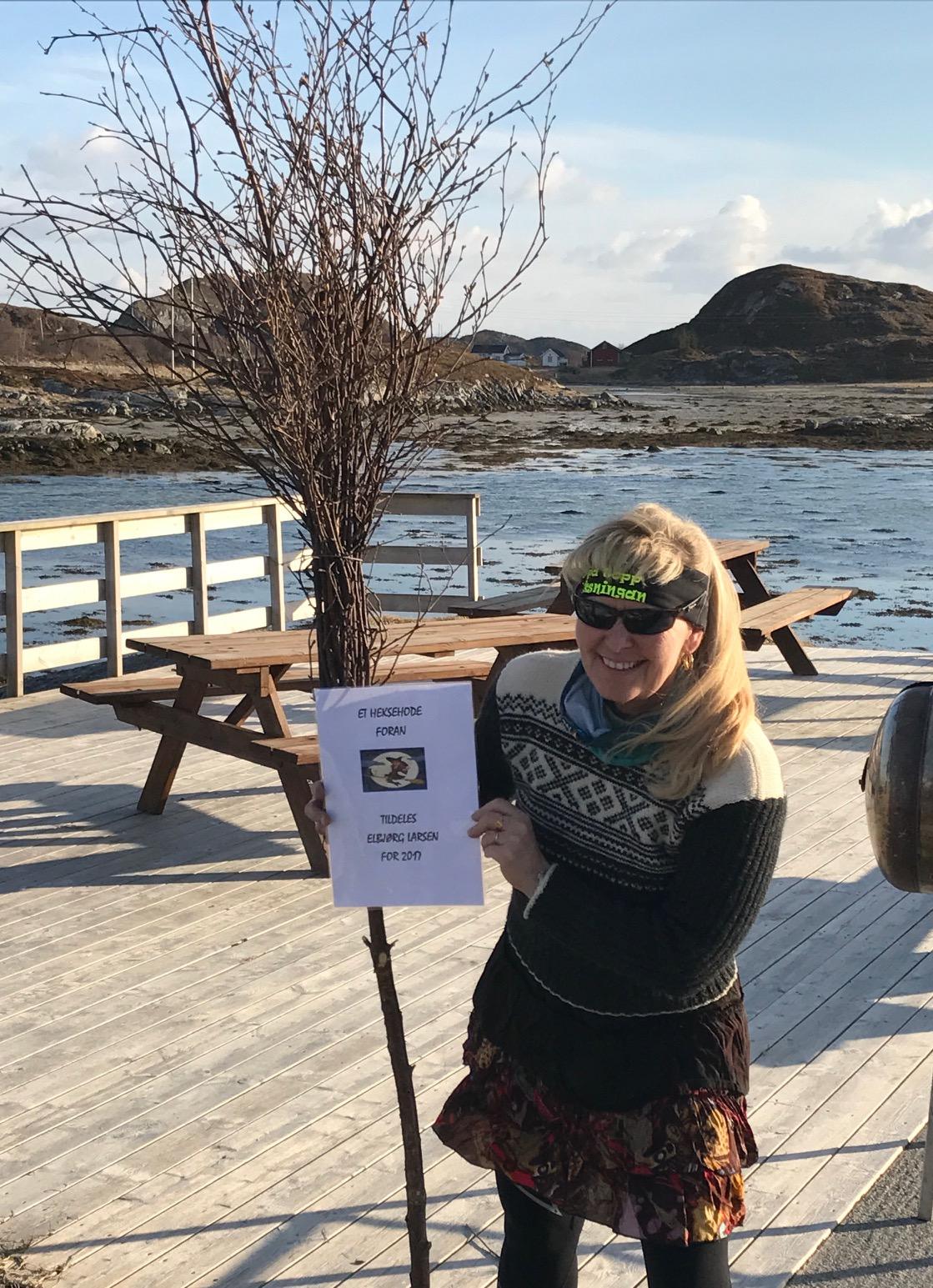 Sesongstart for 5 på topp i Øksningan_pris til Elbjørg