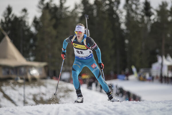 17.03.2017, Oslo, Norway (NOR):Enora Latuilliere (FRA) - IBU world cup biathlon, sprint women, Oslo (NOR). www.nordicfocus.com. © Manzoni/NordicFocus. Every downloaded picture is fee-liable. NordicFocus