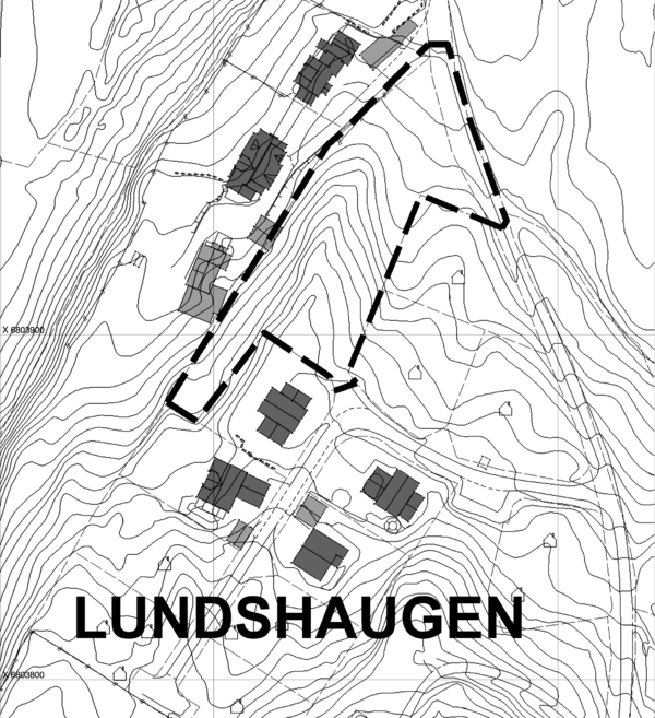 Planavgrensing - Lundshaugen