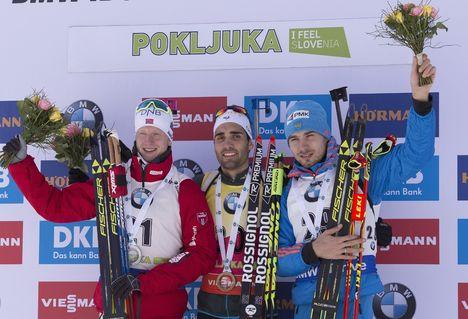 Pokljuka Biathlon 2017