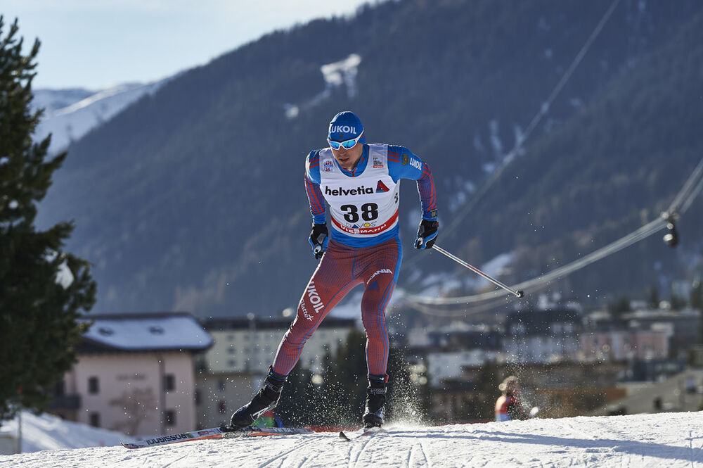 12.12.2015, Davos, Switzerland (SUI):Alexander Legkov (RUS) - FIS world cup cross-country, 30km men, Davos (SUI). www.nordicfocus.com. © Felgenhauer/NordicFocus. Every downloaded picture is fee-liable.