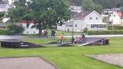Pumptrackbane i rådhuset