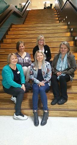 Bildet er av prosjektleder og de representantene som var med på programmets første nettverkssamling.