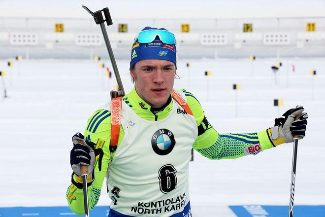 SEBASTIAN SAMUELSSON åkte upp sig efter en trög start i OS-sprinten och slutade 14:e som bäste svensk. Foto/rights: KJELL-ERIK KRISTIANSEN/KEK-stock