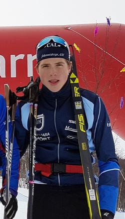 WILLIAM POROMAA är en mycket lovande junior som nu går från Johannisbergs AIK till Åsarna IK. Foto: THORD ERIC NILSSON
