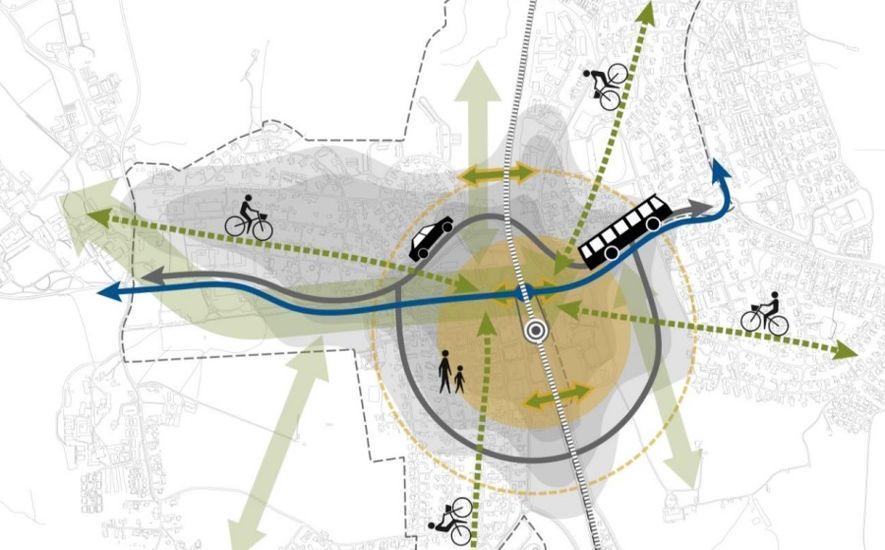 Rapport for vei- og gateplan i Ås, illustrasjonsbilde