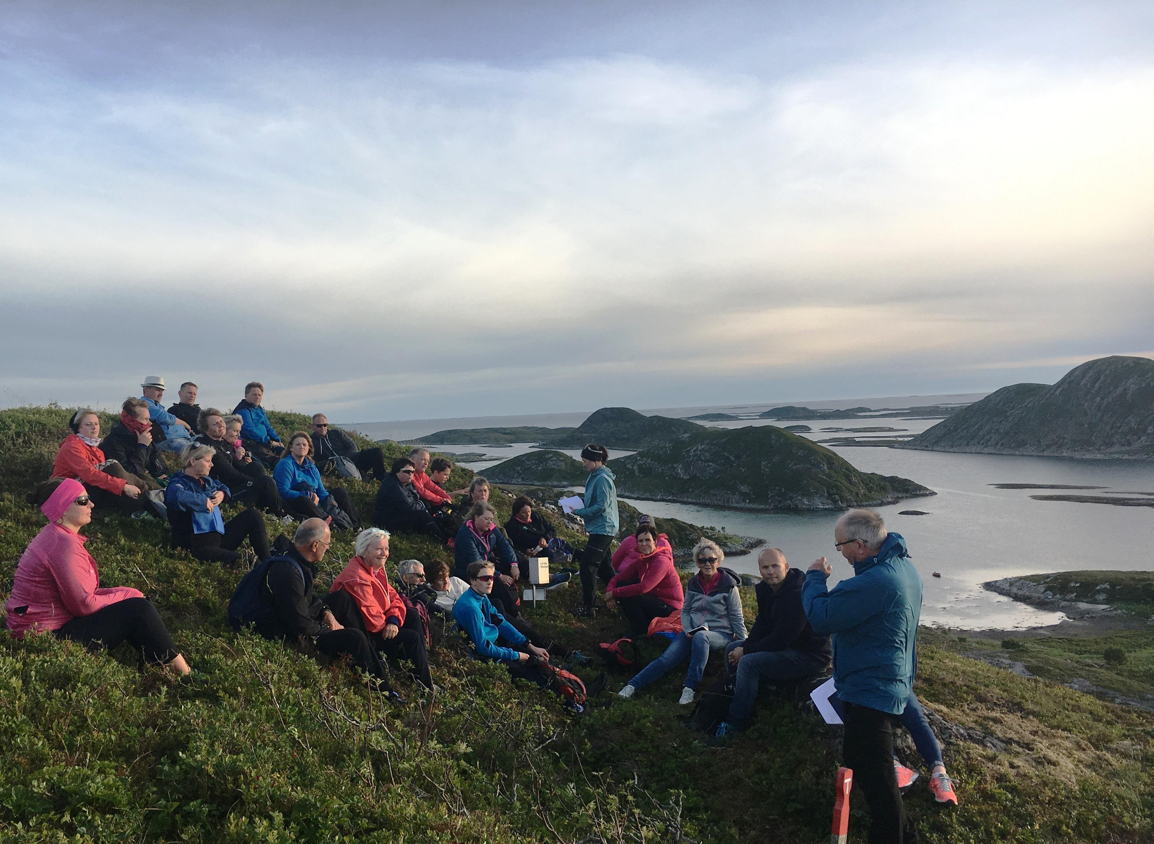 Kul-Tur 2017_Harry forteller på Storåsefjellet