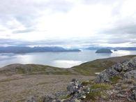 Storfjellet utsikt Håja sommer bilde