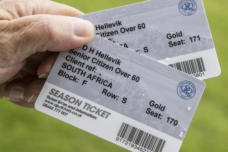 QPR season tickets 1016/17