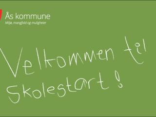 Velkommen til skolestart i Ås kommune!