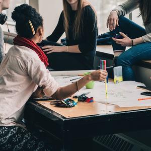 gruppe, kollega, prosjekt, ungdom, oppvekst, skule