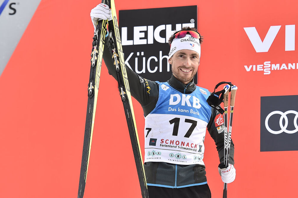 19.03.2017, Schonach, Germany (GER):Francois Braud (FRA) - FIS world cup nordic combined, individual gundersen HS106/10km, Schonach (GER). www.nordicfocus.com. © Thibaut/NordicFocus. Every downloaded picture is fee-liable.