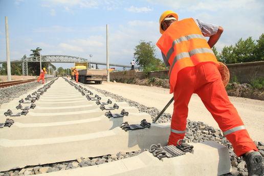 Arbeid på jernbane