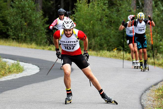 MARTIN PONSILUOMA åkte överraskande starkt på SM i lördags. Foto: HÅKAN BLIDBERG