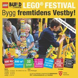 LEGOfestival plakat
