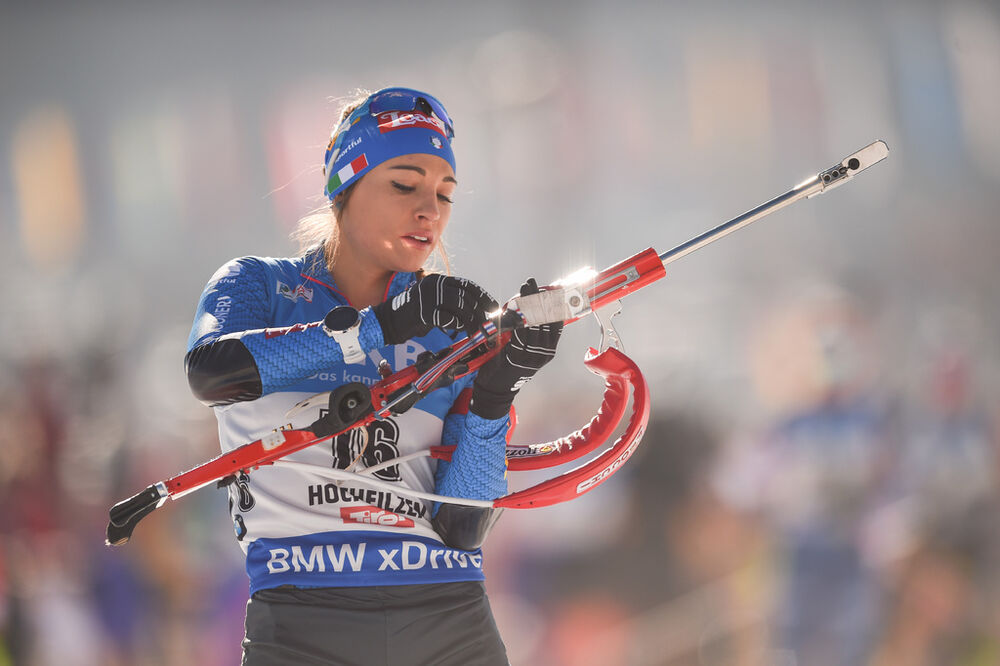 15.02.2017, Hochfilzen, Austria (AUT):Dorothea Wierer (ITA) - IBU world championships biathlon, individual women, Hochfilzen (AUT). www.nordicfocus.com. © NordicFocus. Every downloaded picture is fee-liable.