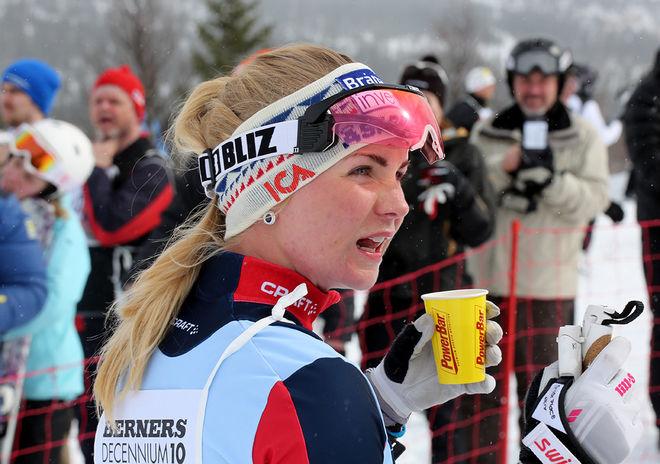 ELIN MOHLIN är den andra landslagsåkaren som lämnar Åsarna på damsidan inför den kommande säsongen. Hon skall åka för Hudiksvalls IF. Foto/rights: MARCELA HAVLVOA/KEK-photo