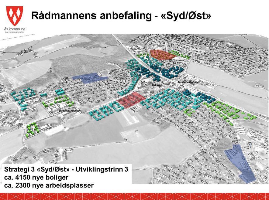 Fortettingsstrategi - rådmannens forslag