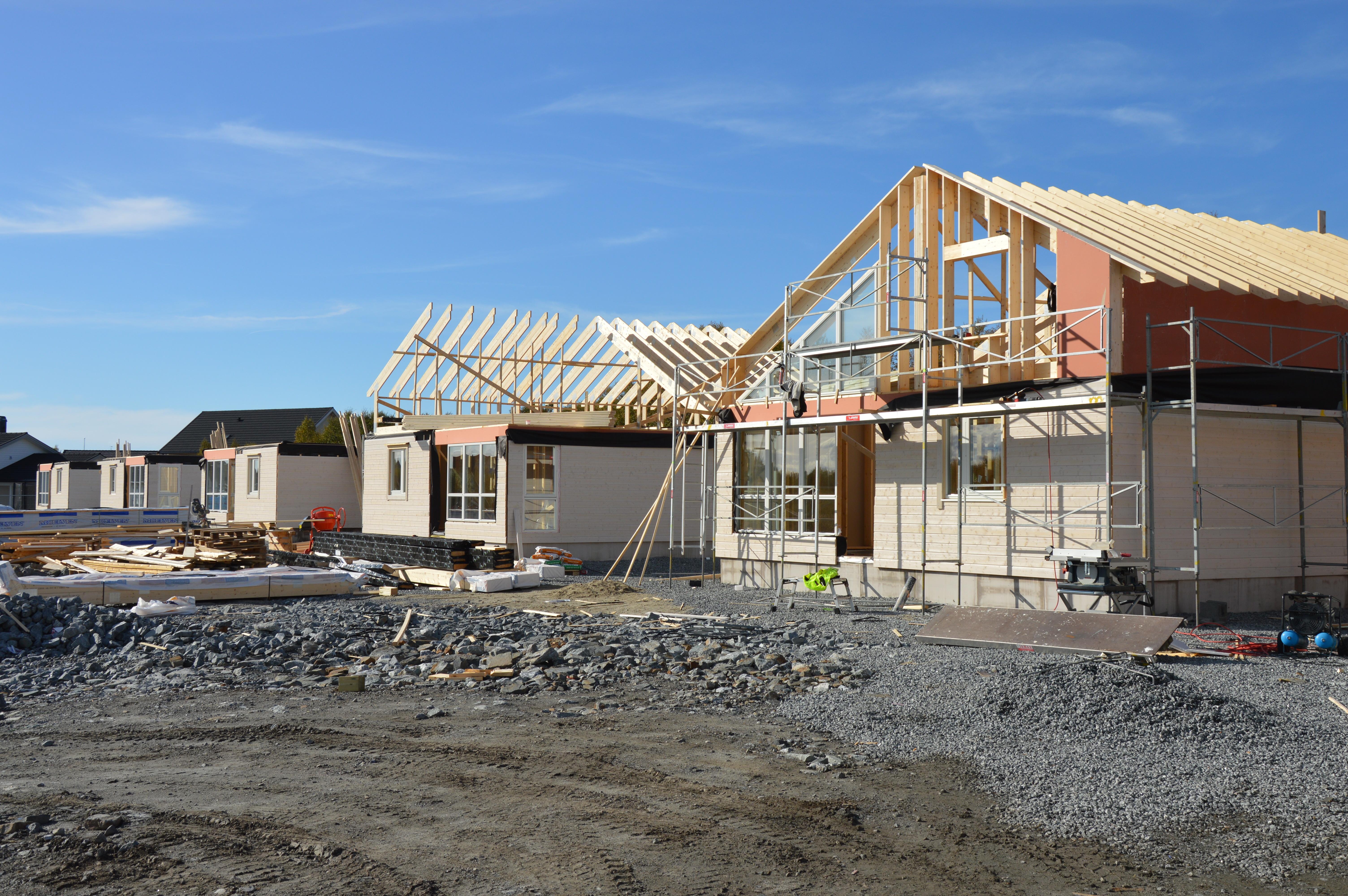 Stor boligsatsing i Herøy gjennom Herbo_ nye boliger under bygging