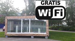 Gratis wifi i rådhusparken