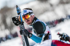 19.03.2017, Quebec, Canada (CAN):Maurice Manificat (FRA) - FIS world cup cross-country, pursuit men, Quebec (CAN). www.nordicfocus.com. © Modica/NordicFocus. Every downloaded picture is fee-liable.