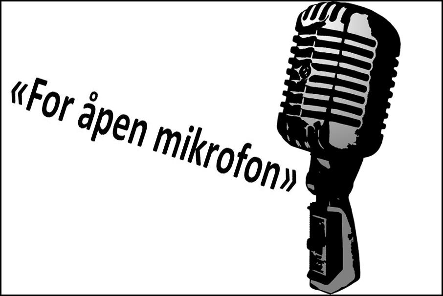 For åpen mikrofon
