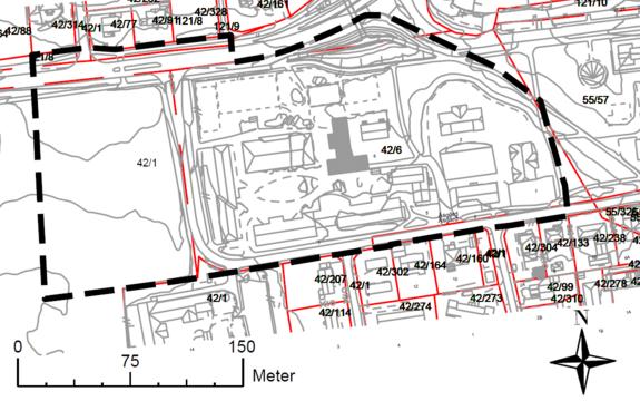Varslingskart Åsgård skole regulering