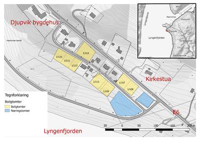 Ledige tomter i Djupvik høst 2017
