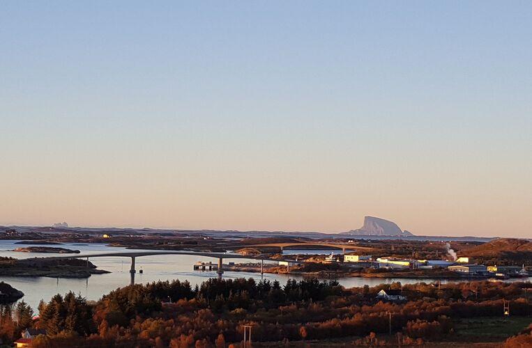 Det er nydelig utsikt fra Langåsen. (Foto: Kristin Furu Grande)
