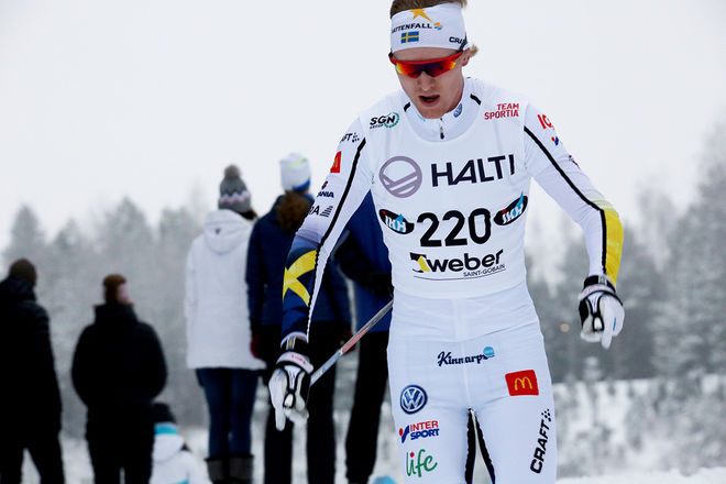 OSKAR SVENSSON är en av dom åkarna som kommer att träna på Idre Fjäll och köra en sprinttävling med landslaget på måndag. Foto/rights: KJELL-ERIK KRISTIANSEN/KEK-photo
