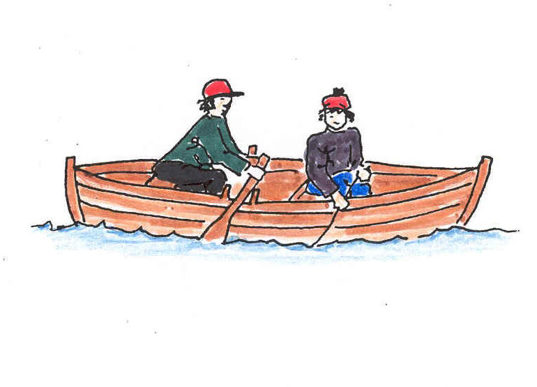 Fiskebåt illustrasjon