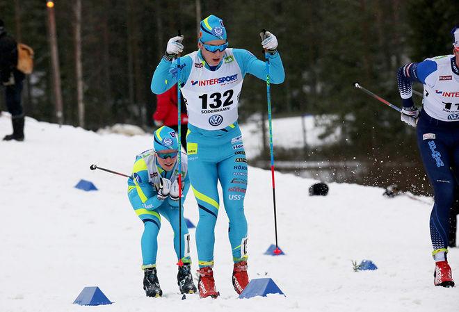 ANTON PERSSON, SK Bore vann den första dagen av Bergebo Skiweekend i Borlänge - en sprint i fristil. Foto/rights: MARCELA HAVLOVA/KEK-stock