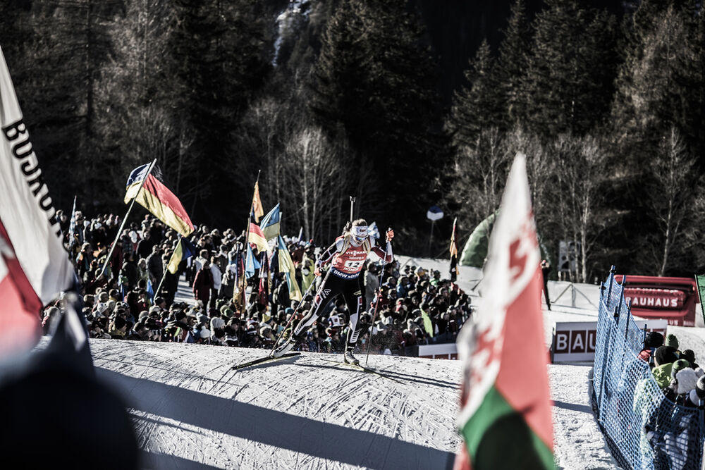 22.01.2017, Antholz, Italy (ITA):Lisa Theresa Hauser (AUT) -  IBU world cup biathlon, relay women, Antholz (ITA). www.nordicfocus.com. © Manzoni/NordicFocus. Every downloaded picture is fee-liable.