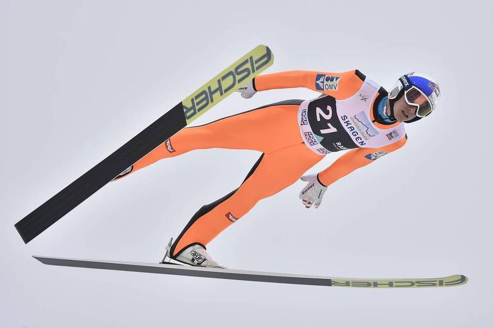 12.03.2017, Oslo, Norway (NOR):Gregor Schlierenzauer (AUT) - FIS world cup ski jumping, individual HS134, Oslo (NOR). www.nordicfocus.com. © Thibaut/NordicFocus. Every downloaded picture is fee-liable.