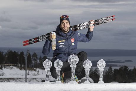 19.03.2017, Oslo, Norway (NOR):Martin Fourcade (FRA) -  IBU world cup biathlon, cups, Oslo (NOR). www.nordicfocus.com. © Manzoni/NordicFocus. Every downloaded picture is fee-liable.