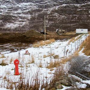 Gravearbeider igang på Svenhaugen